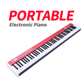 Портативная 88 клавишная профессиональная большая электронная пианино <font><b>MIDI</b></font> клавиатура Цифровое управление для biginner детей взрослых музыкальн...