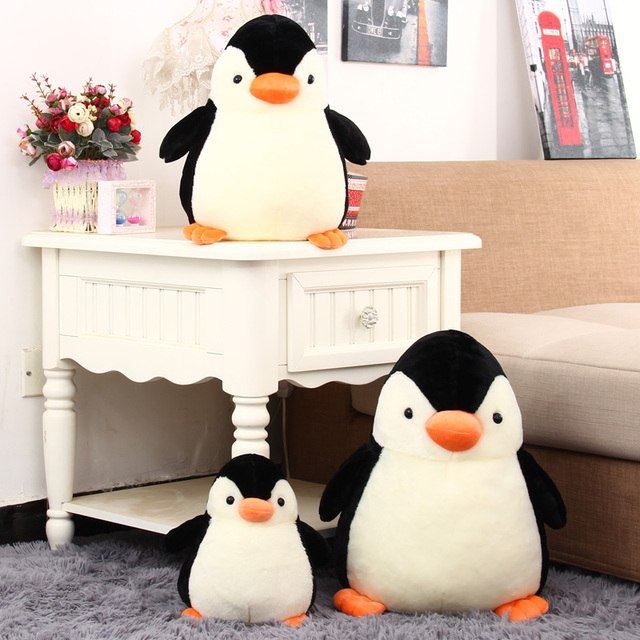 2017 NEW Penguin Plush toy doll Cute Christmas Birthday Gift for girlfriend Festivalbest gift soft Doll Toys