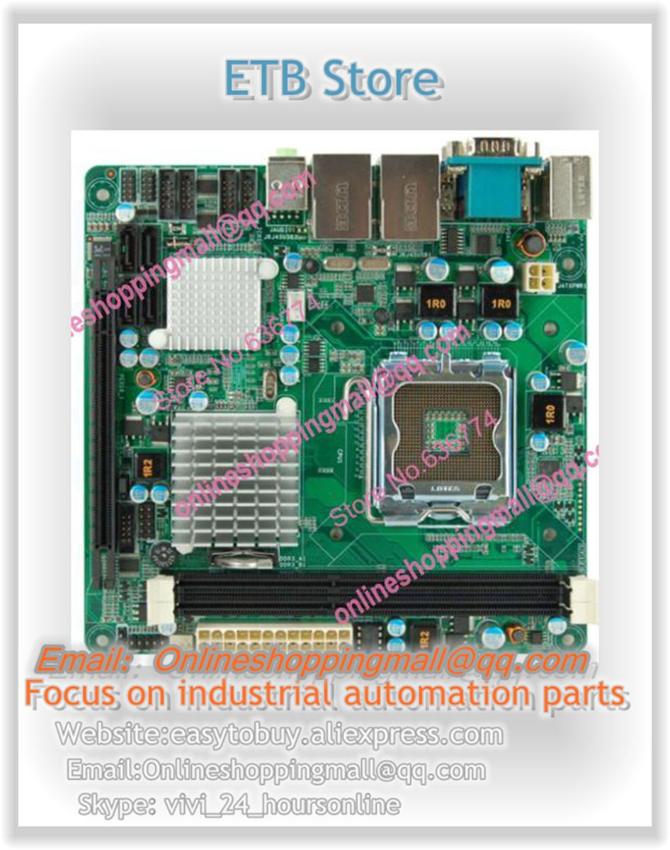 Mini-itx motherboard sys-76843vgga quad-core dual display dual network 6 serial pcie16x m945m2 945gm 479 motherboard 4com serial board cm1 2 g mini itx industrial motherboard 100