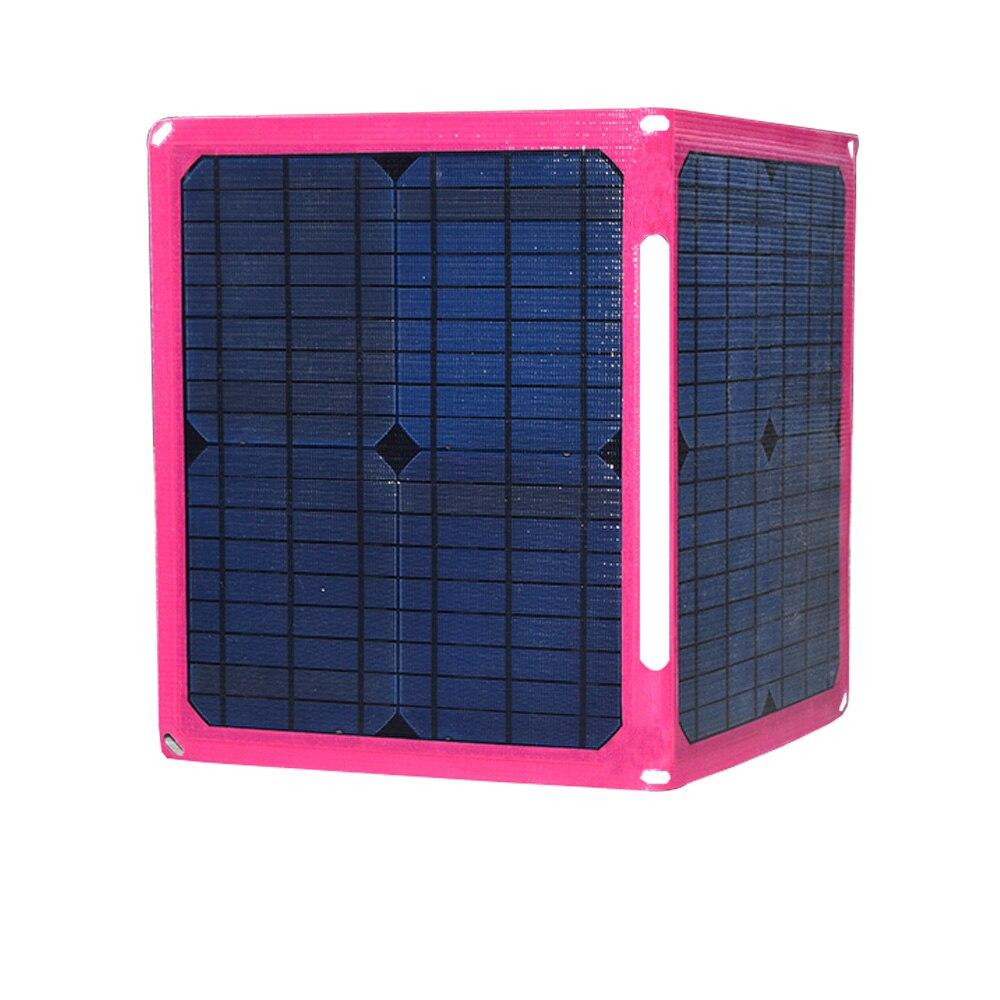 Xinpuguang 40 W 5 V 2A Carregadores de Bateria Solar Carregador de Painel Solar Portátil USB De Carregamento para Telefones móveis Tablet de 3.7 V Bateria etc.