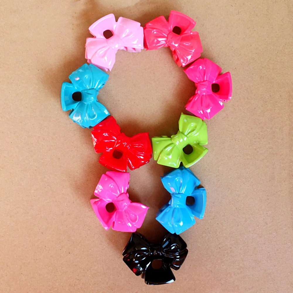 3 pcs Korea Shiny Cute Fish Hair Accessories For Little Girls Hair Clip Cotton Bows Hair ...