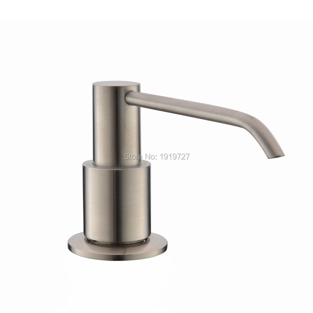 New Brushed Brass soap Dispenser