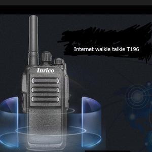 Image 1 - 2pcs SIM card internet walkie radios T196 powerfull 5000mah battery 16Channel internet walkie talkie no talk distance limit