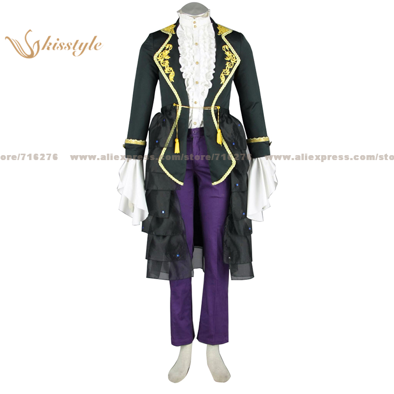 Kisstyle Fashion VOCALOID Gakupo DRAGON Luxurious Uniform COS Clothing Cosplay Costume,Customized Accepted