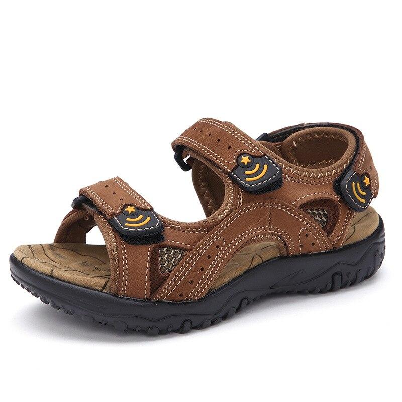 2017 Summer new children s sandals boys high quality shoes comfort skid sandals kids little big