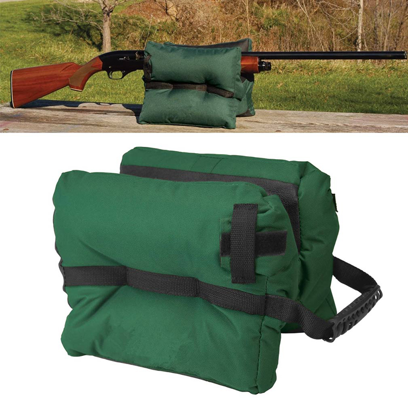 Newest Top Quality Outdoor Tack Driver Hunting Gun Accessories Shooting Bag Gun Rest Target Sports Rifle Bench Unfilled Sand Gre