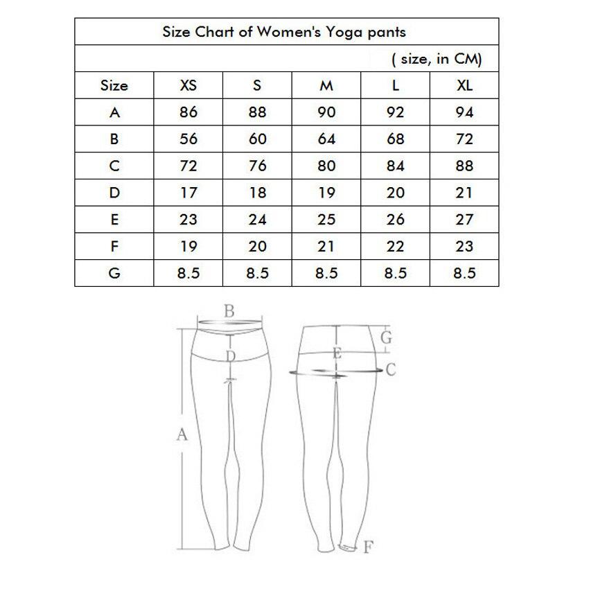 2017 gedruckt sport leggings frauen weihnachten yoga hosen hohe - Sportbekleidung und Accessoires - Foto 6