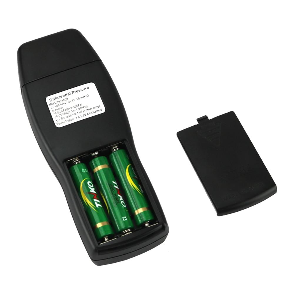 Manómetro Medidor de presión diferencial digital de presión de - Instrumentos de medición - foto 5