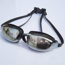 2016 Brand New Plain Myopia Goggles Male Ms. Big Box Plating Waterproof Anti-fog Goggles Swimming Goggles