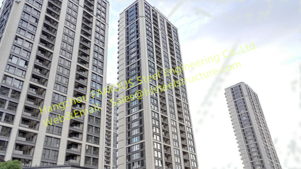 Skyscraper,high Rise Steel Buildings And Apartments Fabricated By China Builder And Contractor
