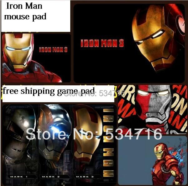 Free shipping new Iron Man mousepad oversized gaming mouse pad gamer large notbook computer mouse mat laptop play mats padmouse
