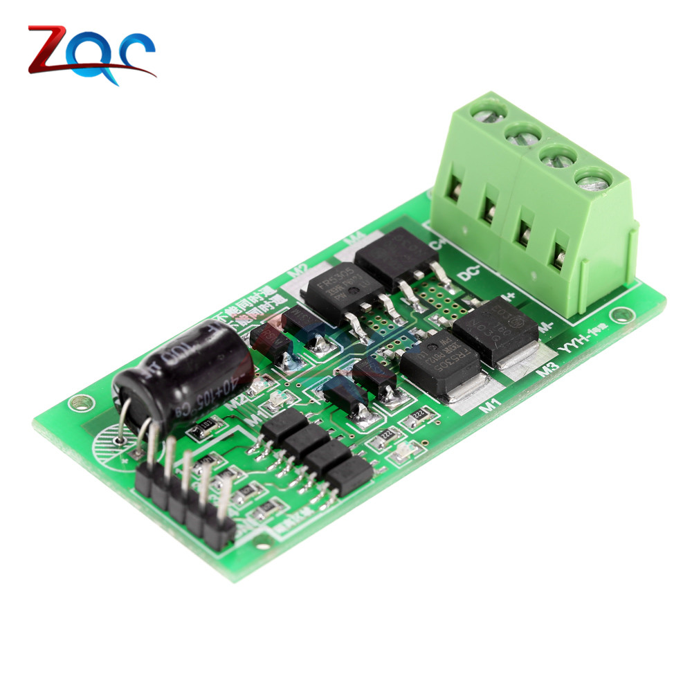 DC 5V-27V 5A DC Motor Driver Board Speed Controller H Bridge PWM Signal Controller Module Reversible Board 78 6969 9917 2 for 3m x64w x64 x66 compatible lamp with housing free shipping dhl ems