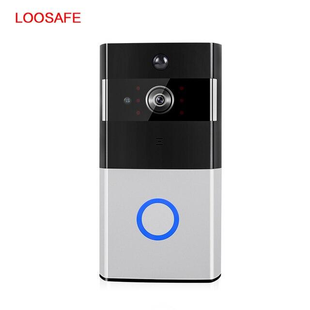 LOOSAFE Wireless HD Digital Door Viewer Camera Home Video Surveillance 1MP  Surveillance Camera PTZ IP Cam Night Viewer Doorbell