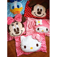 Mickey Minnie Cartoon Kitty Donald Duck Melody Stereo Pillowcases Single Pillow Birthday Gifts Christmas Gifts
