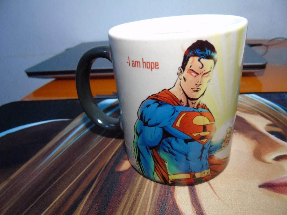 superman mugs magic mugs morphing heat reveal coffee mug morph travel beer mug heat changing color