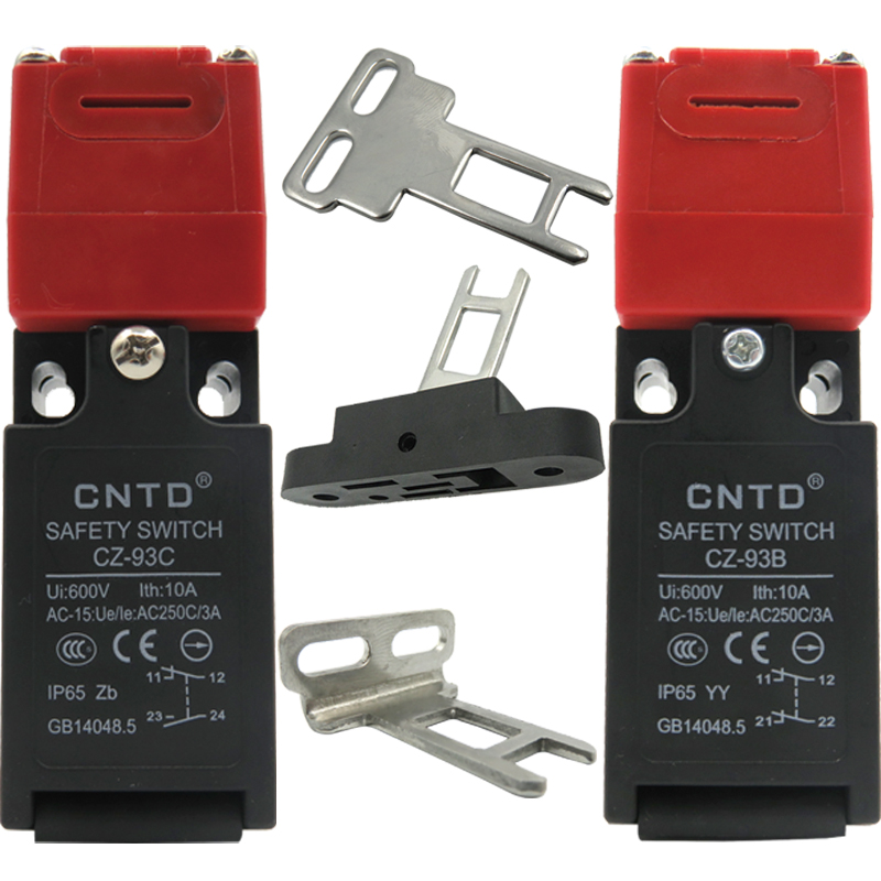 CNTD High Quality CZ 93C (1NO1NC) Safety door switch Limit switch Micro switchKey Switch CZ 93B (2NC)-in Switches from Lights u0026 Lighting on Aliexpress.com ... & CNTD High Quality CZ 93C (1NO1NC) Safety door switch Limit switch ...