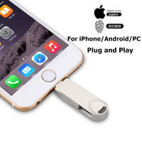 Pendrive 128 GB 3 w 1 iPhone USB flash jazdy OTG Pendrive 3.0 Cle USB flash 256 GB dla iPhone /Android/Tablet PC