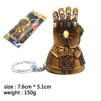 Брелок перчатка Таноса Мстители: Война бесконечности