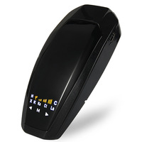 VB LED Radar Detector 360 Degrees Full Band With LED Display Car Speed Russian English Voice