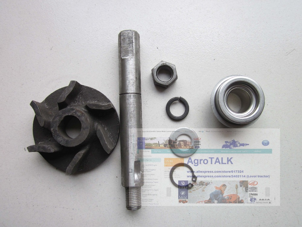 Fengshou estate trator FS184 180 with engine J285T, the set of water pump repair kit, part number: fengshou estate 180 184 the cylinder head hood part number j285 01 301a