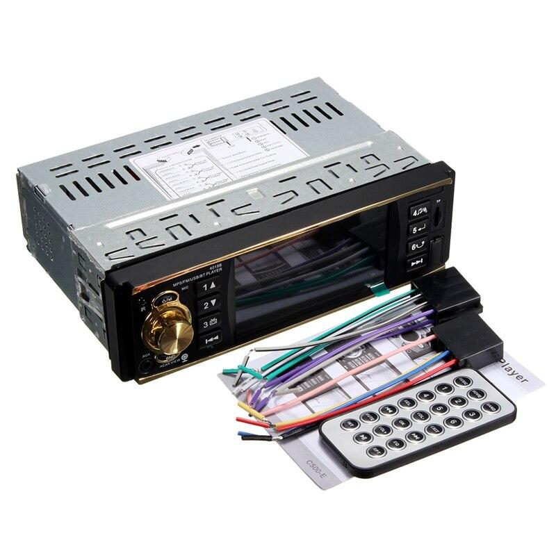 Lo nuevo de 4.1 Pulgadas MP5 MP3 Coche Reproductor de Vídeo Bluetooth Entrada AU