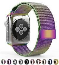 Calidad superior de 1:1 original enlace pulsera correa y milanesa lazo correas de reloj banda de acero inoxidable para apple watch 38/42mm correa
