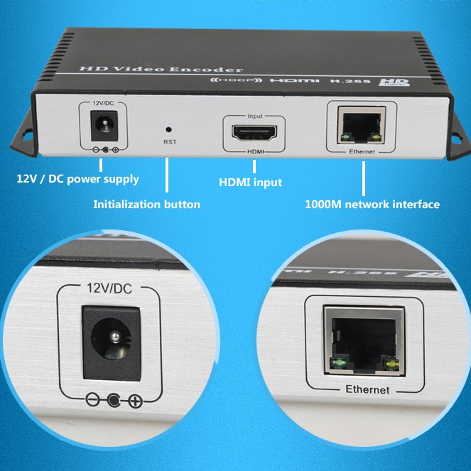 H.265/H.264 IPTV Encoder HDMI Video Encoder for IPTV broadcasting support RTMP RTSP ONVIF,work with wowza, xtream codes, youtube h 264 mpeg 4 avc hdmi to dvb c encoder modulator with http rtsp rtmp hls