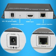 H.265 Encoder with HDMI input , support H.264/H.265 for IPTV broadcasting support RTMP RTSP ONVIF