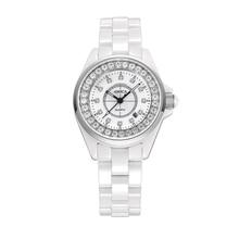 Amica Women's D-Ceramics Quartz Sapphire Silver Tone Stainless Steel Wrist Watches A5-11