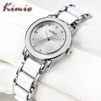 Relogio Feminino EYKI Women Dress Calendar Gold Stainless Steel Strap Wristwatch Ladies Business Casual Waterproof Quartz