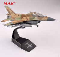 Kids Toys 1 72 Scale Diecast ISRAEL 2015 F 16I Block 52 Airplane Aircraft Model Collection