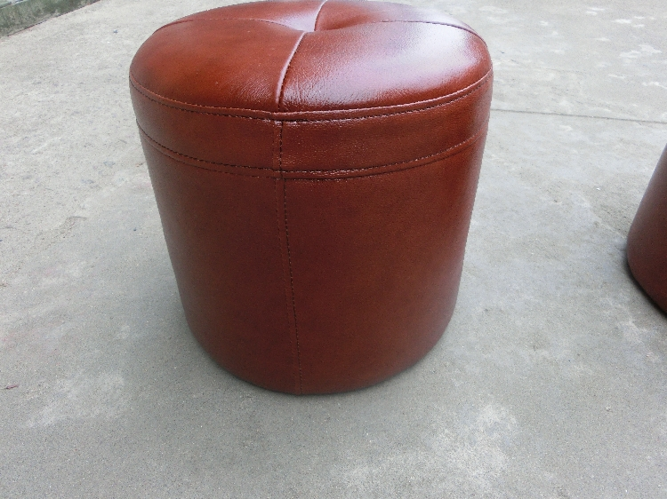 Small leather round leather stool stool vanity stool to sit pier Childrenu0027s IKEA sofa ottoman stool stool changing his shoes fre-in Bar Stools from ... & Small leather round leather stool stool vanity stool to sit pier ... islam-shia.org