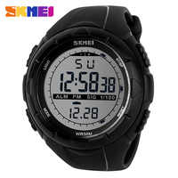 SKMEI Uomini LED Digital Military Watch Uomo Sport Orologi Outdoor 5Bar Impermeabile Orologi Da Polso Orologio Maschile Relogio Masculino 1025