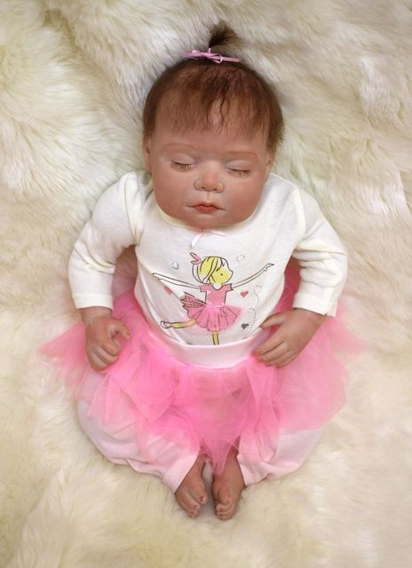 8535e573b 20 INCH Fashion dolls new reborn doll baby fake babies realistic ...