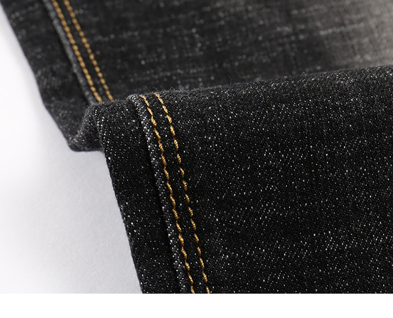 KSTUN Men's Jeans 2019 Mens Black Jeans Slim Fit Stretch Autumn Denim Casual Quality Pants Business Trousers for Man Boys Jean Homme 17