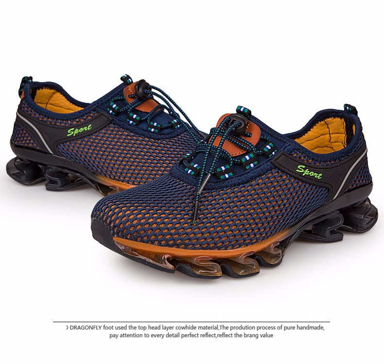 Super Cool breathable running shoes men sneakers bounce summer outdoor sport shoes Professional Training shoes plus size 31