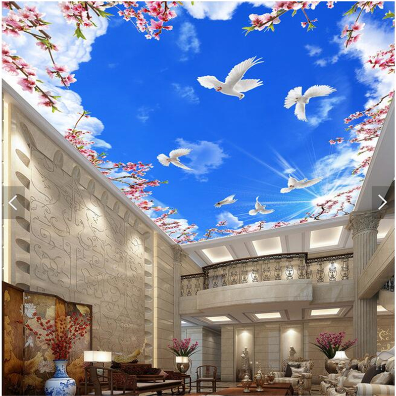 Online get cheap room ceiling designs for Design a mural online
