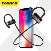 New Sports In Ear Wireless Bluetooth Earphone Stereo Earbuds Headset Bass Earphones With Mic For IPhone