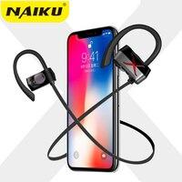 Yeni Spor Kulak Kablosuz Bluetooth Kulaklık Stereo Kulaklık Kulaklık Bas iPhone X iPhone 6 Samsung Telefon için Mic ile Kulaklık