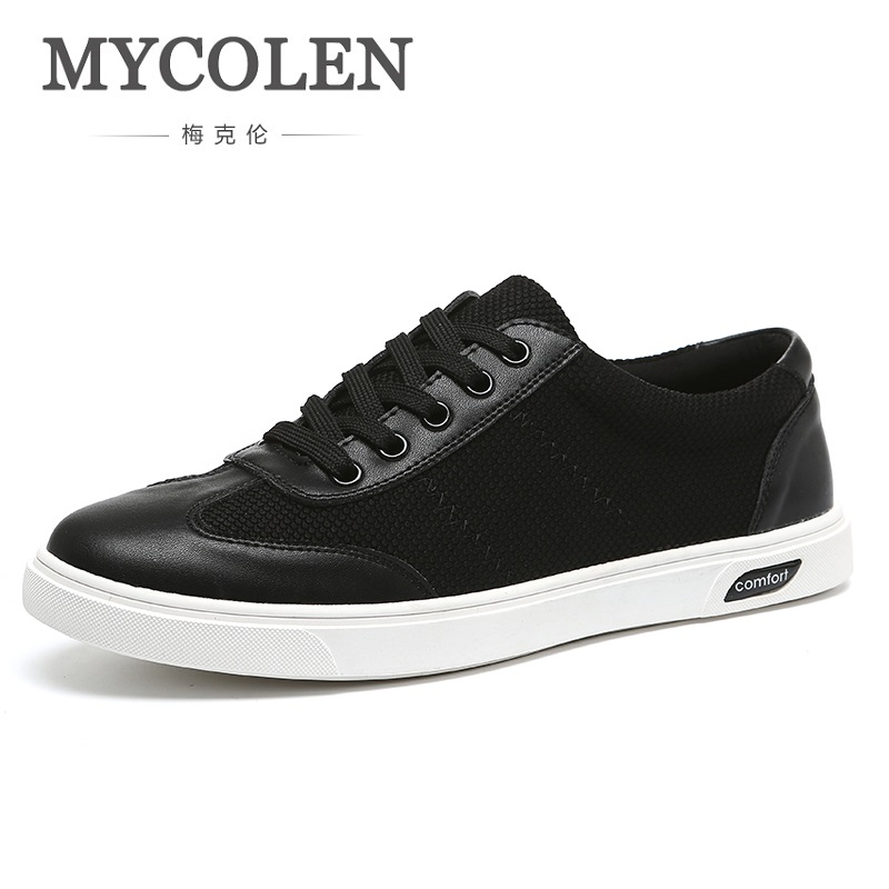 MYCOLEN New Luxury Brand Casual Shoes Men Spring New Arrival Lace-Up Style Fashion Sneakers Outdoors Breathable Light Shoes spring new arrival fashion lace up shoes men casual shoes white