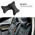 2 pcs Newest 4 Color PU leather headrest neck pillow Car Auto Seat cover Head Neck Rest Cushion Headrest Pillow Black Gray Brown