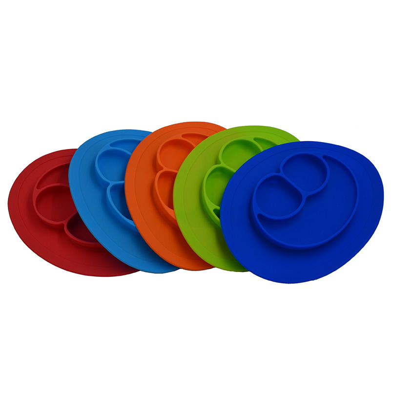 FDA All-in-one <font><b>silicone</b></font> rubber placemat/dish/<font><b>bowl</b></font> or <font><b>baby</b></font>/child plate set Frog and <font><b>silicone</b></font> <font><b>mat</b></font> for <font><b>kids</b></font>,non-slip <font><b>mat</b></font> BPA free