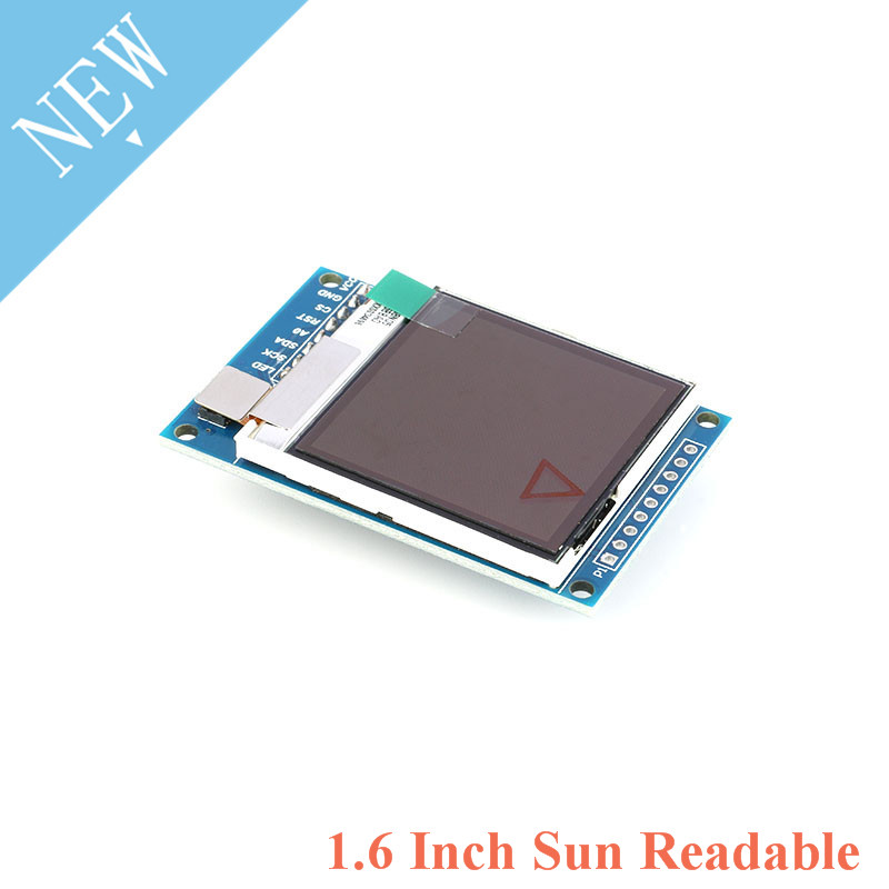 1.6 Inch SPI Serial LCD TFT Display Screen Module 130*130 SSD1283 Visible Under Sunlight For Arduino 1.6