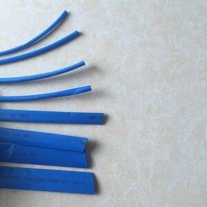 Tube thermorétractable bleu 1 mètre   Modèle de spécification de tube thermorétractable 3MM ~ 14MM électricien boîtier thermorétractable