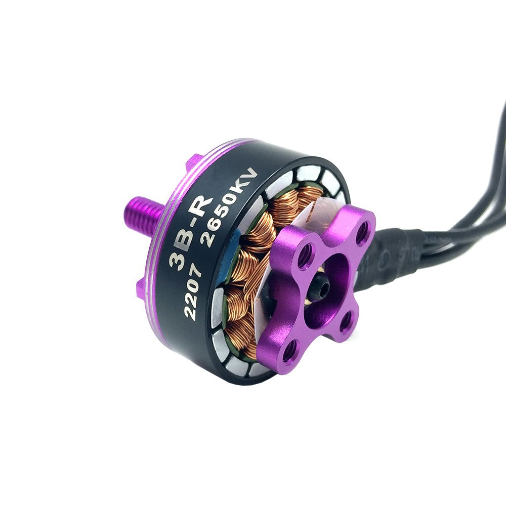 3BHOBBY BBB 3B-R 2207 2650KV RC Racing Brushless Motor Lipo 3S - 4S ESC 30A - 50A Suit For 200mm - 220mm FPV Drone Frame Kit вольтметр 50v 50a lifepo4 lipo tf01n