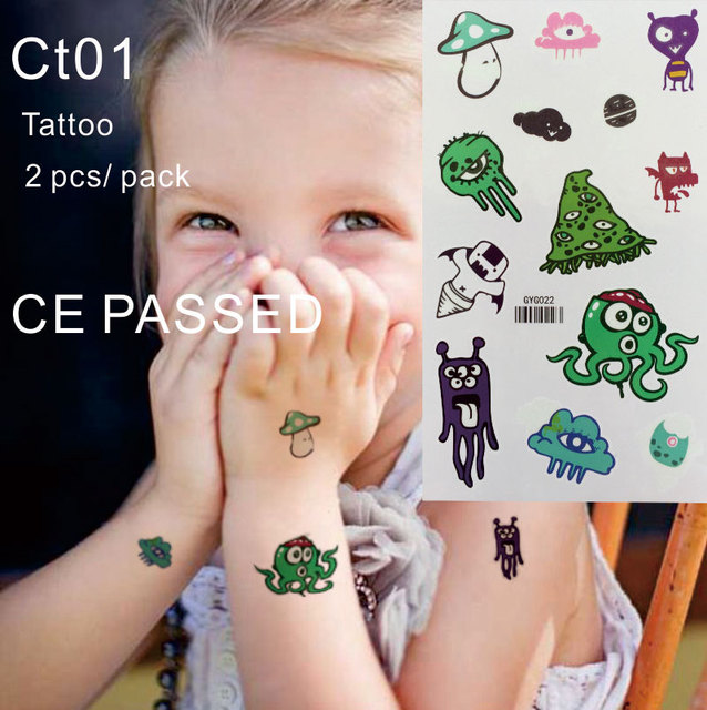 CT01 Children Temporary Tattoo Non toxic and with CE certificate ...