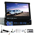 Coche 1 din autoradio RDS Audio Del Coche Reproductor de DVD de Navegación PC Sub GPS 1din Auto Radio Stereo SD MP3 Digital TV Movie MP5 Universal