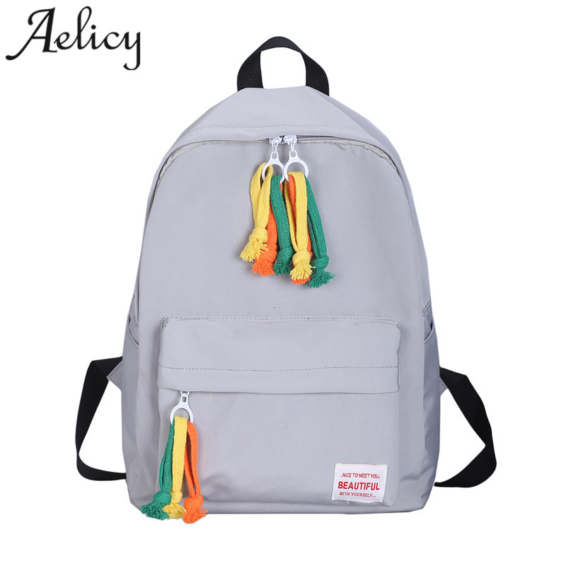Aelicy women Backpack @ Candy Color Ladies backpacks Multifunction Travel girls School Bags mochilas mujer 2019 new dropshippingAelicy women Backpack @ Candy Color Ladies backpacks Multifunction Travel girls School Bags mochilas mujer 2019 new dropshipping