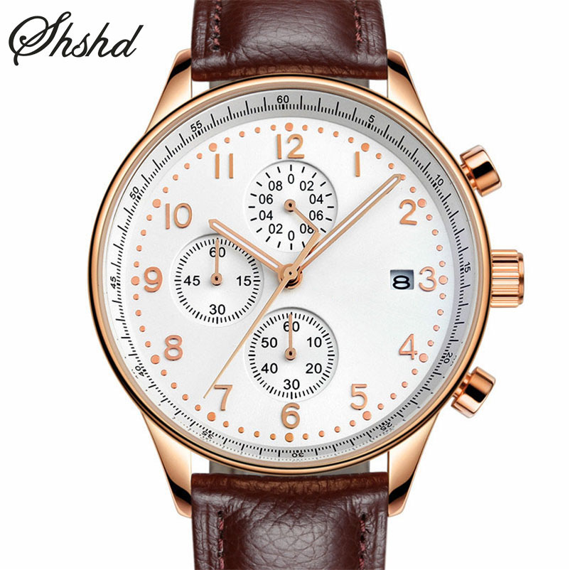 Fashion Analog Display Quartz Wristwatches Leather Strap Men Watch Waterproof Stainless Steel Business Black Clock Montre Homme fashion casual quartz watch for men oversize stainless steel case leather strap simple analog dial reloj hombre montre homme