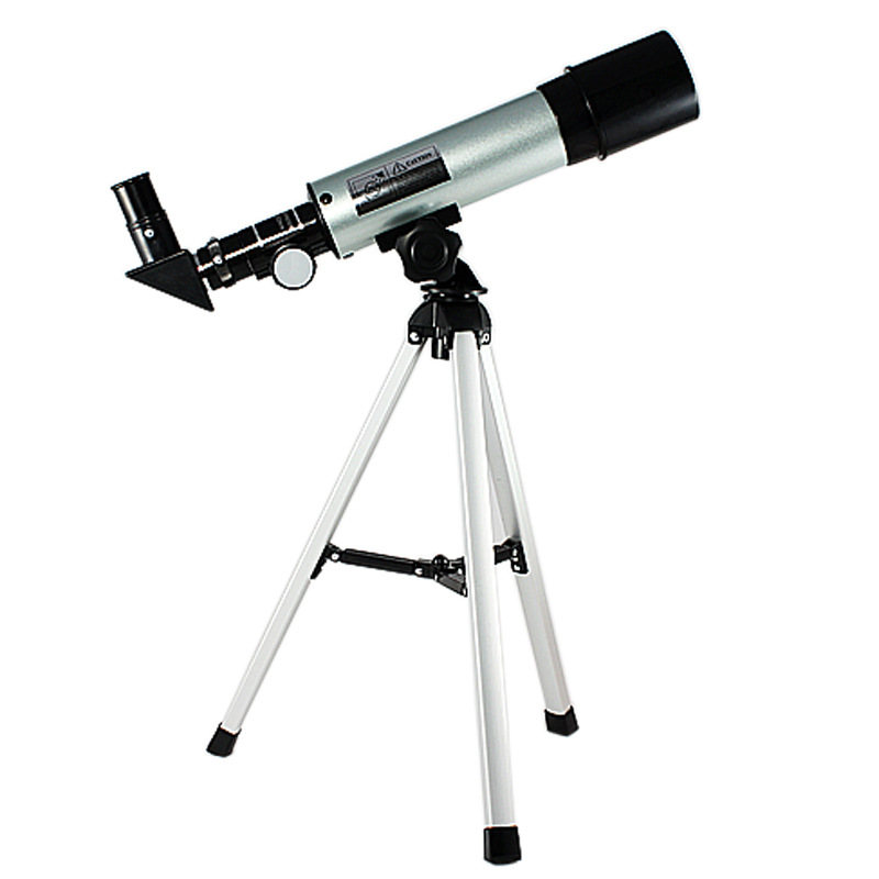 F360X50 Professional HD Telescope Astronomical Monocular With Tripod Refractor Spyglass Zoom High Power Spotting Scopes Powerful
